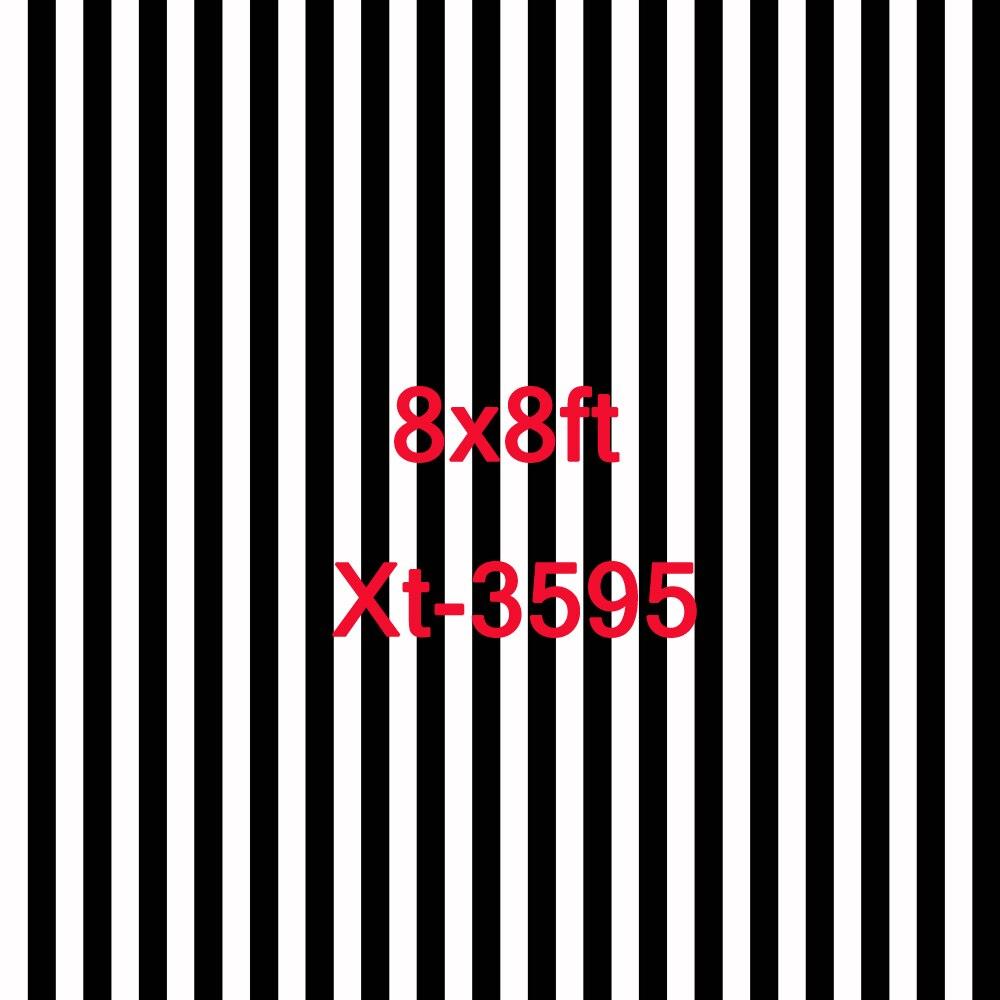 8x8ft noir et blanc rayé toile de fond photographie toile de fond photo rayures nouveau-né accessoires photo fond