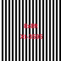 8x8ft schwarz und weiß gestreiften hintergrund fotografie kulissen foto hintergrund streifen neugeborenen requisiten foto hintergrund