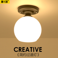 lights Nordic porch light european style balcony dome light fitting room hallway light household lamps and lanterns