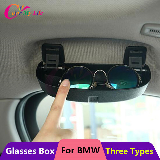 8e0d831675fc Color My Life Car Glasses Case Box for BMW 1 2 3 5 Series E90 E91 F30 F31  F34 320 328 F07 F10 F11 F48 520 528 X1 X3 X5 Parts