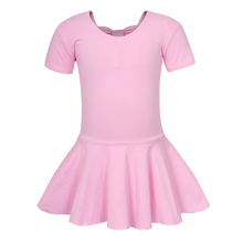 AmzBarley Girls Ballet Dress Dance Costumes Toddler Backless Solid Pink Leotard Gymnastics for Kids