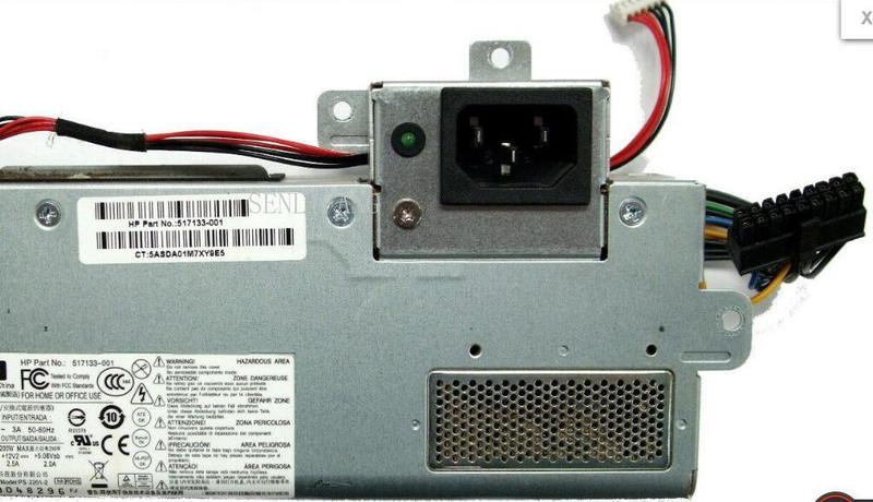Well  Tested 517133-001 DPS-200PB -171A For PS-2201-2 200W POWER SUPPLY One Year Warranty