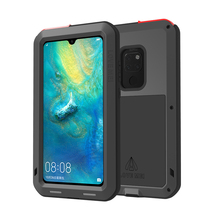 For Huawei Mate 20 Case Waterproof Cover for Aluminum Metal Shockproof Protection