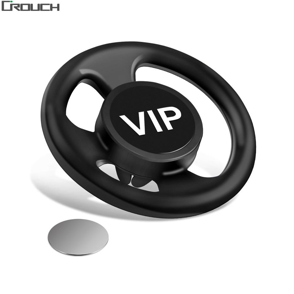 Crouch автомобильный держатель телефона для iPhone 7 6 5S поп Air Vent Автомобильный держатель Soft 360 градусов Rotable Поддержка мобильный телефон в автомоб…