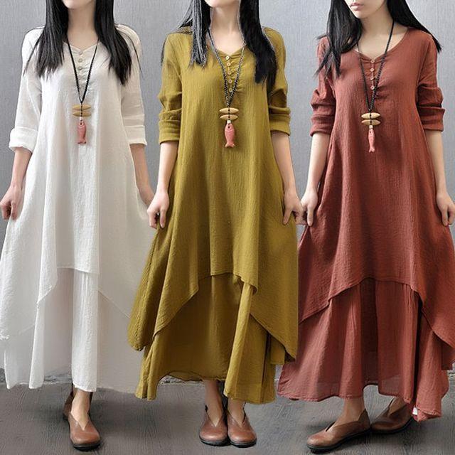 Envsoll 2017 gravidez grávida dress two-pieces long skirt dress longo-luvas de algodão roupas de maternidade para mulheres grávidas