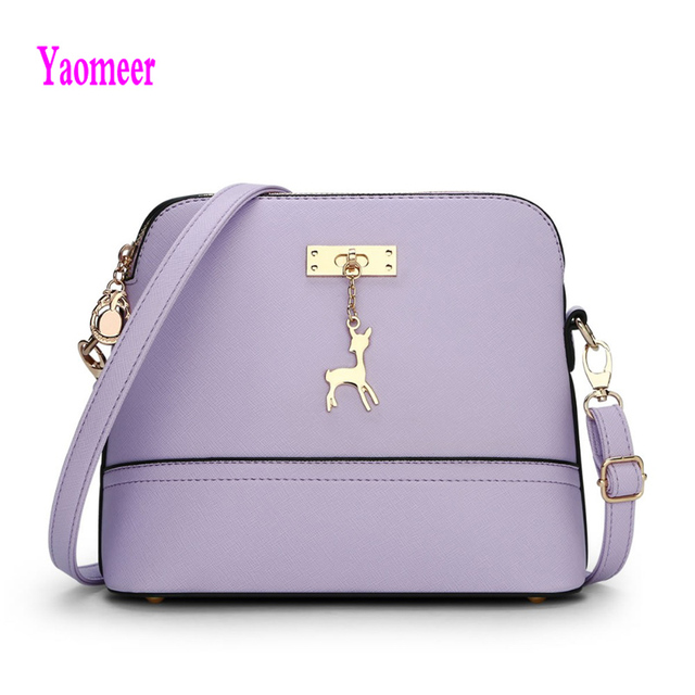 2016 Famous Design Brand Women Shell Bags Hot Sale Purple Blue Handbag Luxury Mini Pu Crossbody Shoulder Bag Zipper Clutch a29