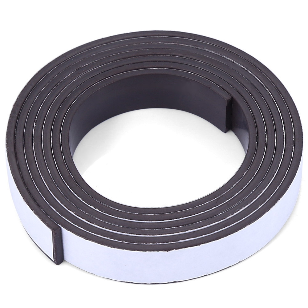 1 Meter Rubber Magnet 10*1.5 Mm Self Adhesive Flexible Magnetic Strip Rubber Magnet Tape Width 10 Mm Thickness 1.5 Mm