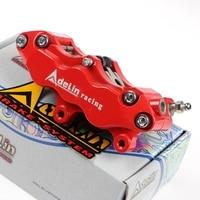 68mm Motorcycle 6 piston brake caliper universal adapter bracket pitch From Adelin for Honda Yamaha Ducati Kawasaki Vespa Moto