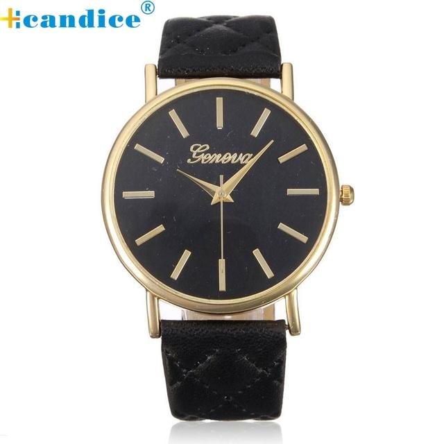 montre orologi horloge luxury brand watch faux-leather simulated watches Brand For Reloj Relogio orologio Quartz Wristwatches