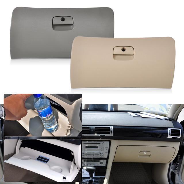 2 colores Disponibles de Almacenamiento de Coches Guantera Cajón Cubierta Tapa para VW Passat B5 1998 1999 2000 2001 2002 2003 2004 2005
