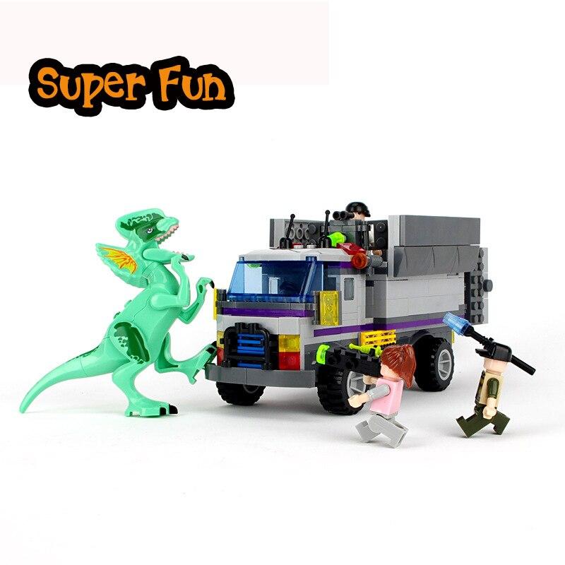 Jurassic World Dinosaur Diplodocus Raptor Rampage Building