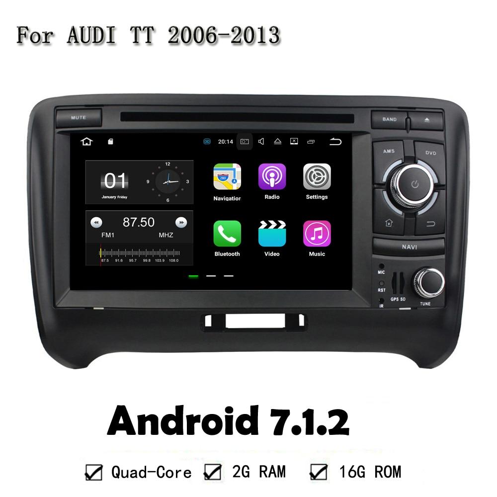 Android 7.1.2 4 ядра Оперативная память 2 г Встроенная память 16 г dvd-плеер автомобиля  ...