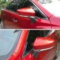 Подходит Для 2014-2016 Mazda 6 ATENZA Авто abs Chrome Боковая Крышка Зеркало Заднего вида Укладки Отделка Стикер