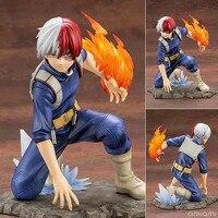 ARTFX J Shoto Todoroki Battle Statue Super Hero Comic Anime Statue My Hero Academia Boku no Hero Figure Model Toys