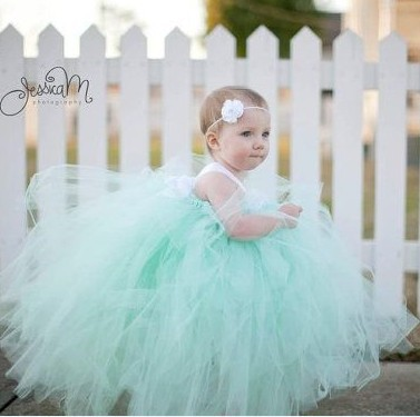 Mint Green Toddler Dress