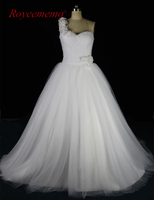 Royeememo 2017 New Design Real Photo High Quality Wedding Dress Hot Sale Bridal Dress Custom Made