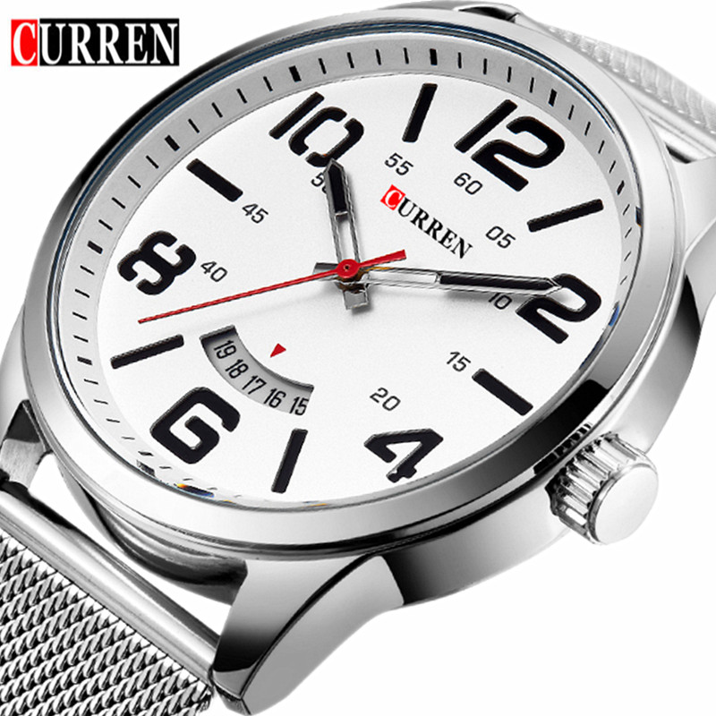Reloj Hombre 2016 Curren Watches Men Brand Luxury Quartz-Watch Men's Sport Watches Waterproof Man Dress Clock Relogio Masculino luxury brand casima men watch reloj hombre military sport quartz wristwatch waterproof watches men reloj hombre relogio