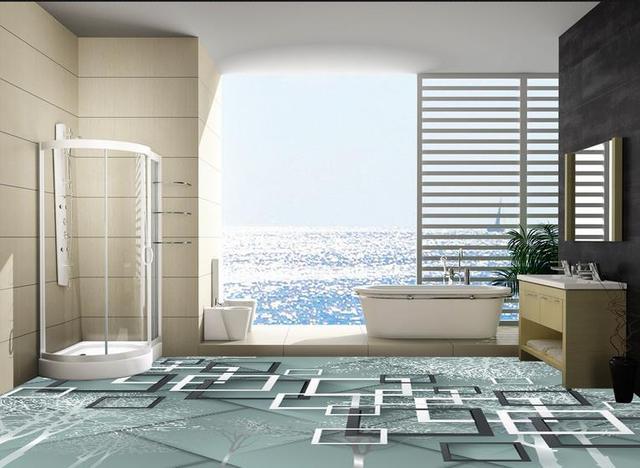 Boom In Woonkamer : Custom 3d vloertegels behang abstracte leven boom 3d vloer