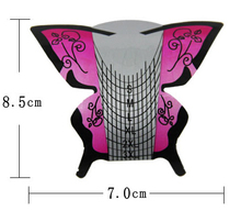 Wholesale 2015 NEW self-adhesive 300PCS  Nail Art Form/Professional Butterfly Form Manufacturer. WT014