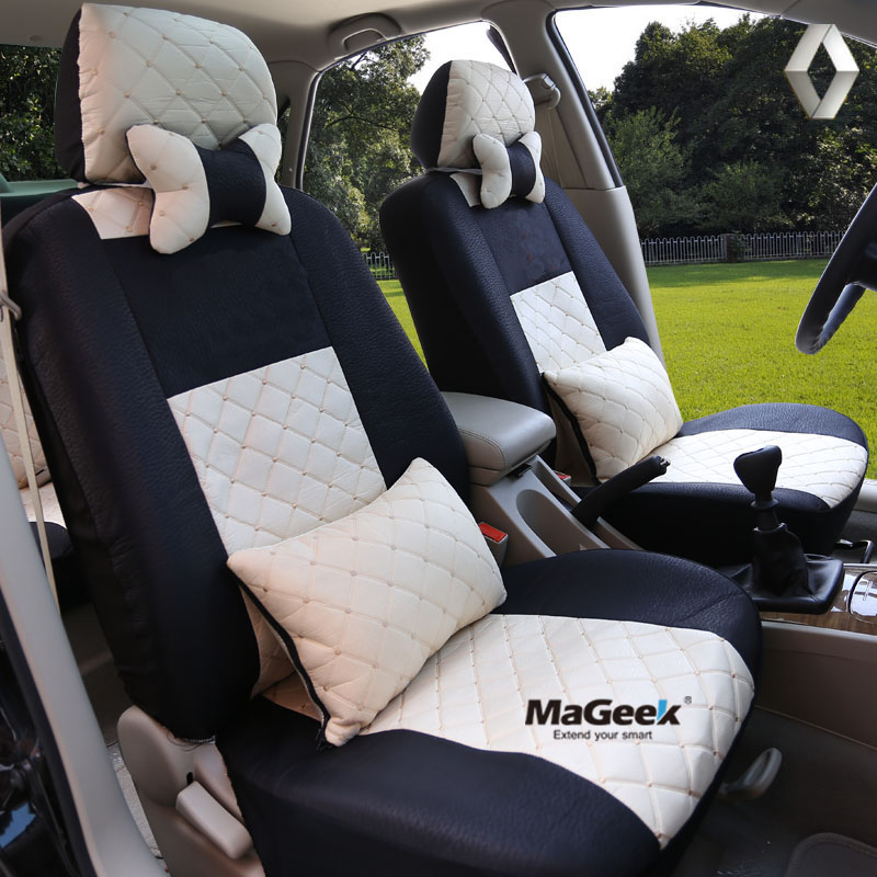 ФОТО Universal car seat cover For Renault Koleos megan Nuolaguna latitude wind Lang landscape black/beige/gray/red car accessories