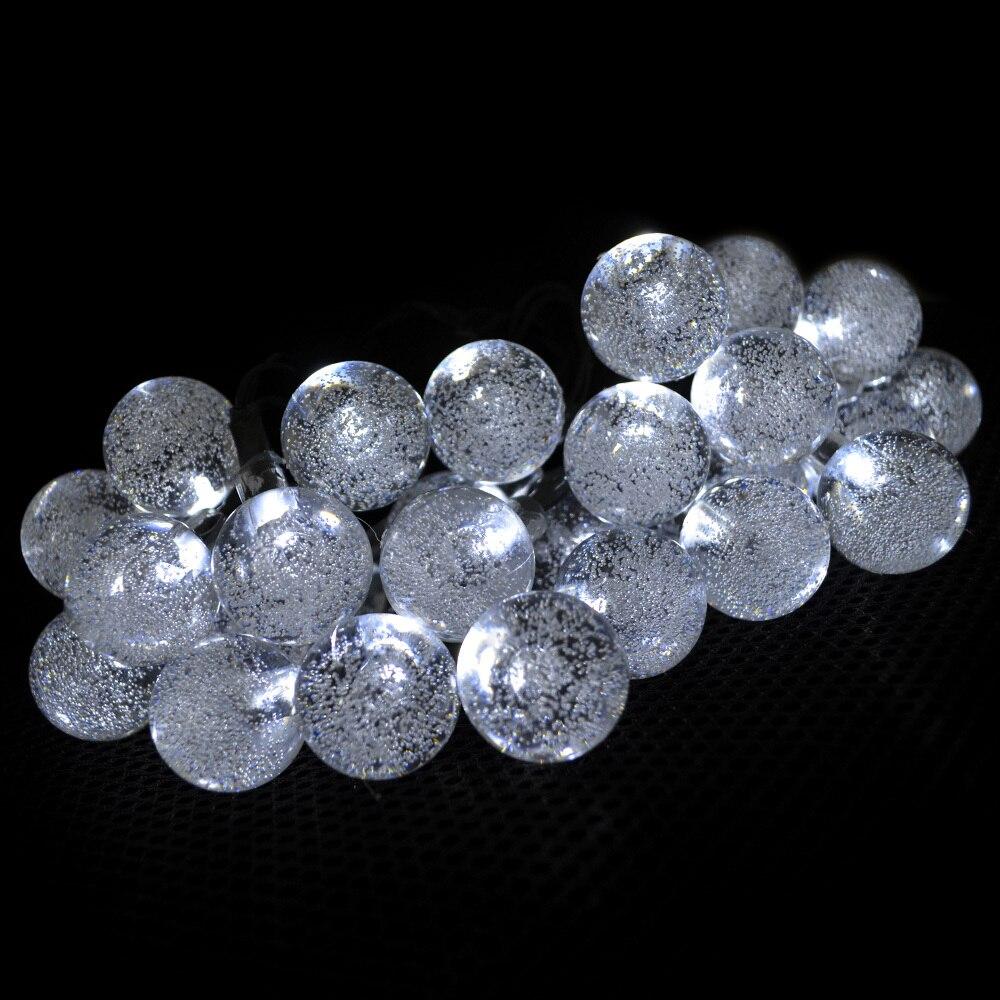 Wedding White Lights: Wedding Decoration Outdoor Solar Fairy Lights White Ball