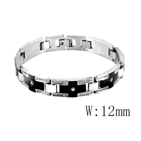 CR-24 Mode Männer Frauen Armband CZ Stein 316L Edelstahl Paar Liebe Geschenk Armband Armreif Luxus Marke