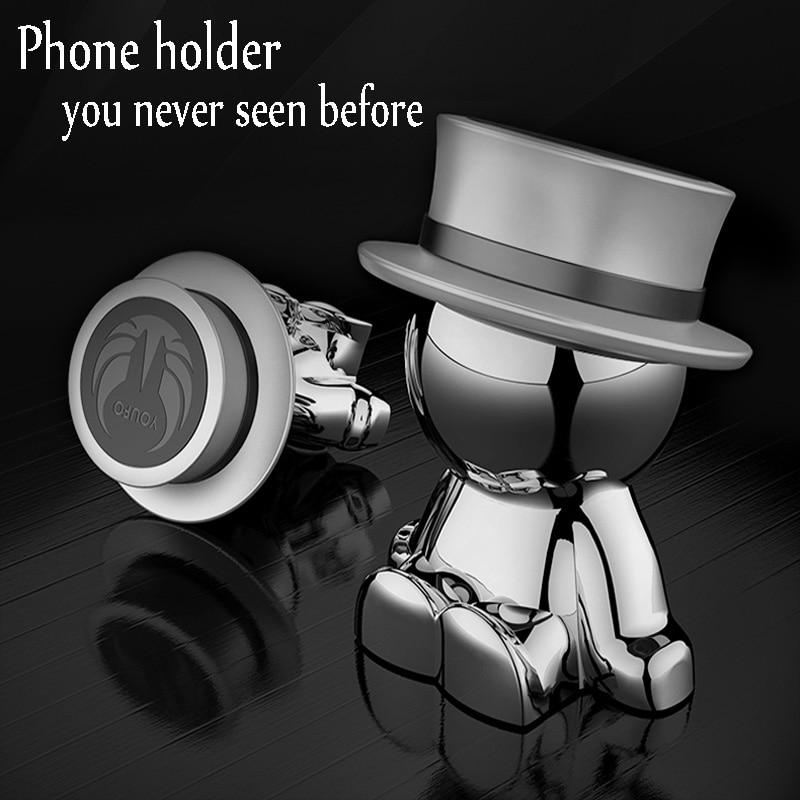 Popsocket Creative <font><b>Car</b></font> <font><b>Phone</b></font> Holder Magnetic Dashboard Mobile Smartphone Stand Magnet Support Cellphone Funy <font><b>Accessories</b></font>