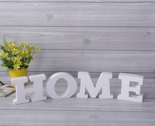 Free Shipping Home Decorations Wooden Letters