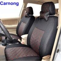 Carnong housse de siège de voiture universel pour hayon ou berline de voiture 5 places 4/5 appuie-tête arrière siège retour de split 40/60 ou pas siège couvre