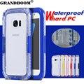 GRANDBOOM Подводные Телефон Сумка Водонепроницаемый Противоударный Прозрачный Case Cover For iPhone 7 6 S Plus SE 5S Samsung S6 S7 Edge Note 5