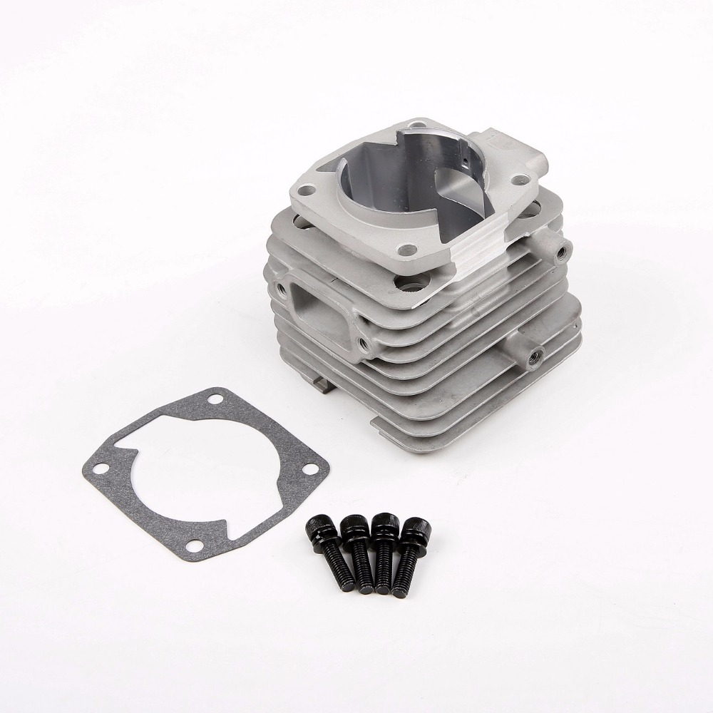 45cc 4 hole Engine cylinder Fit 45CC Motor Scale Gas Engine Rovan RC CAR Parts aluminum water cool flange fits 26 29cc qj zenoah rcmk cy gas engine for rc boat