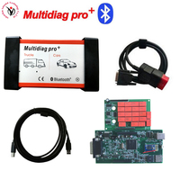 DHL Free!!! Red interface Multidiag Pro+Nec relays Double Green Board 8.0 with Bluetooth VD TCS CDP PRO Auto OBD2 Cars & Trucks