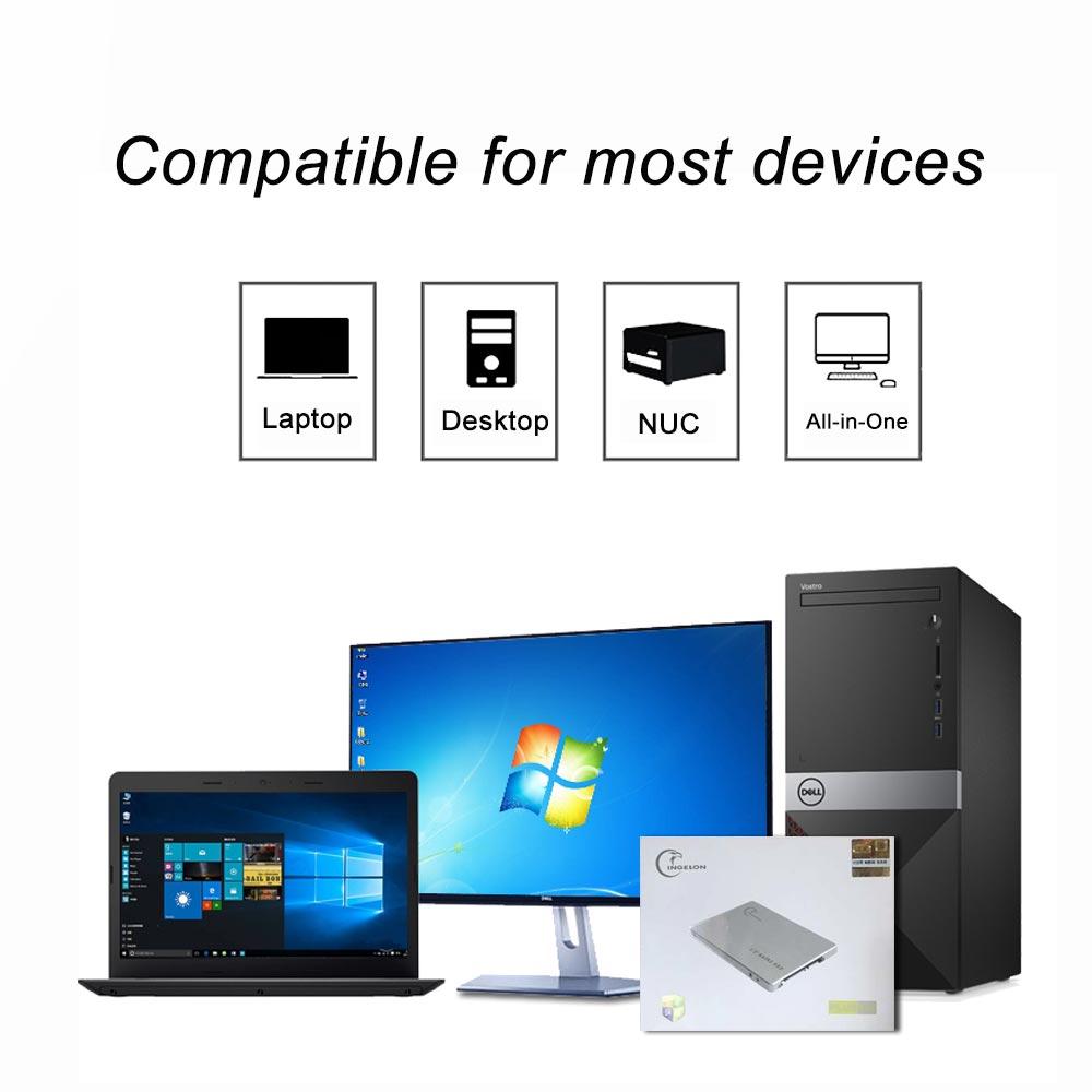 Werbe 2019 Metall SSD 240GB 480GB 120GB 64GB Speicher Solide Disk Laptop Desktop Disco ssd 240 gb hdd 2.5