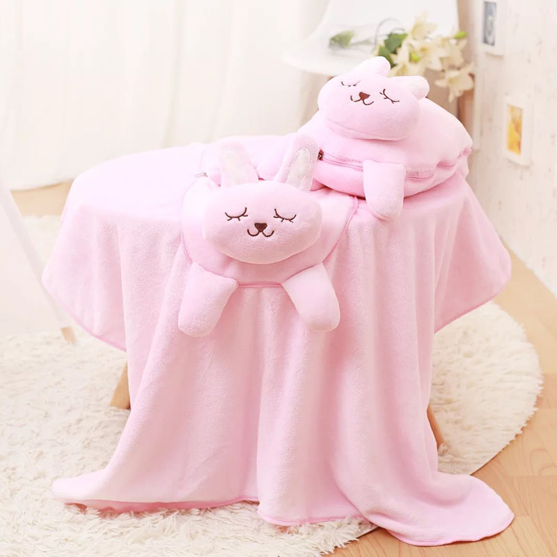 animal sharp blanket cute cat rabbit elephant lion plush cushion sofa car blanket 2 in 1 high quality free shipping brand infants costume series animal clothing set lion monster owl cow clasp elephant kangroo baby cosplay cute free shipping