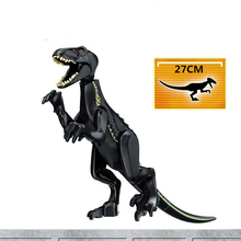 10PCS/LOT Jurassic World 2 Dinosaur Polar Bear tyrannosaurus  Building Blocks Dinosaur Action Figure Bricks Toys Gift 79151 77001 jurassic world 2 dinosaur tyrannosaurus building blocks dinosaur action figure bricks legoings dinosaur toys gift