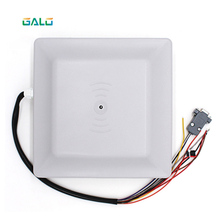 UHF RFID Card Reader 6เมตรช่วง8dbiเสาอากาศRS232/RS485/Wiegand TCP/IPอ่านIntegrative UHF Reader