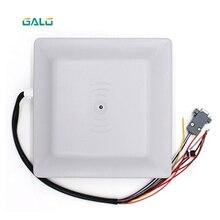 UHF Đầu Đọc Thẻ RFID Dài 6M Phạm Vi Khoảng Cách Với 8dbi Ăng Ten RS232/RS485/Wiegand TCP/IP Đọc Integrative UHF Đầu Đọc