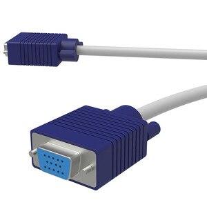 Image 2 - 15 Pin 1 PC a 2 Monitor de Video Dual forma SVGA VGA Monitor VGA Splitter Cable HD 1080P HD para ordenador PC y portátil