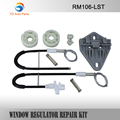 YD WINDOW REGULATOR COMPLETE CLIP SET RENAULT MEGANE I WINDOW REGULATOR REPAIR KIT REAR-LEFT
