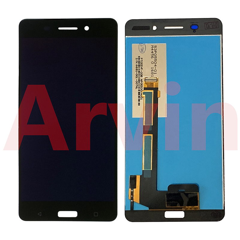 For Nokia 6 TA-1000 TA-1003 TA-1021 TA-1025 TA-1033 TA-1039 LCD Display Display + Touch Screen Digitizer Assembly Parts For Auto