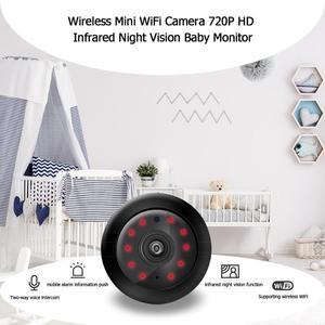 Image 5 - Sem fio mini wifi câmera 720p hd sensor de vídeo infravermelho visão noturna detecção movimento filmadora monitor do bebê segurança em casa