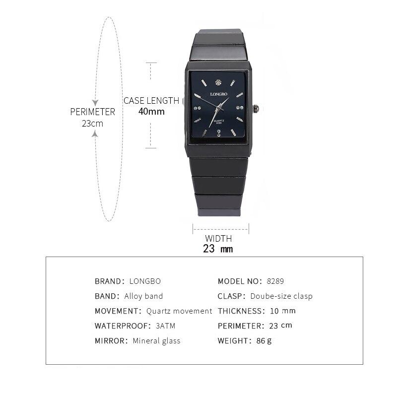 dbfeaa7a5af ჱTop Venda! LONGBO Relógios de Pulso Das Mulheres Top Marca de Luxo ...