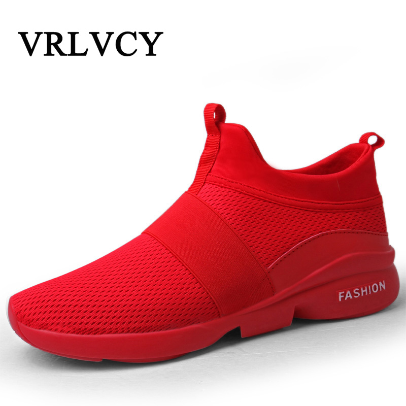 Men Casual Shoes Summer Breathable Flats Fashion Light Male Footwear Mesh Masculino Zapatos Hombre Sapatos Mesh Design Lazy Shoe