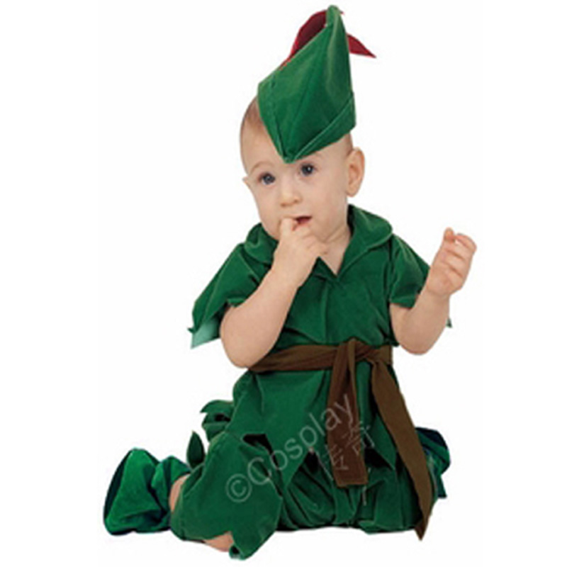 baby peter pan costume infant halloween costume