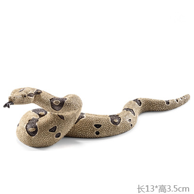 Toy Model-Toy Doll Collectible-Figure Simulation Constrictor Andalusian PVC Boa Original