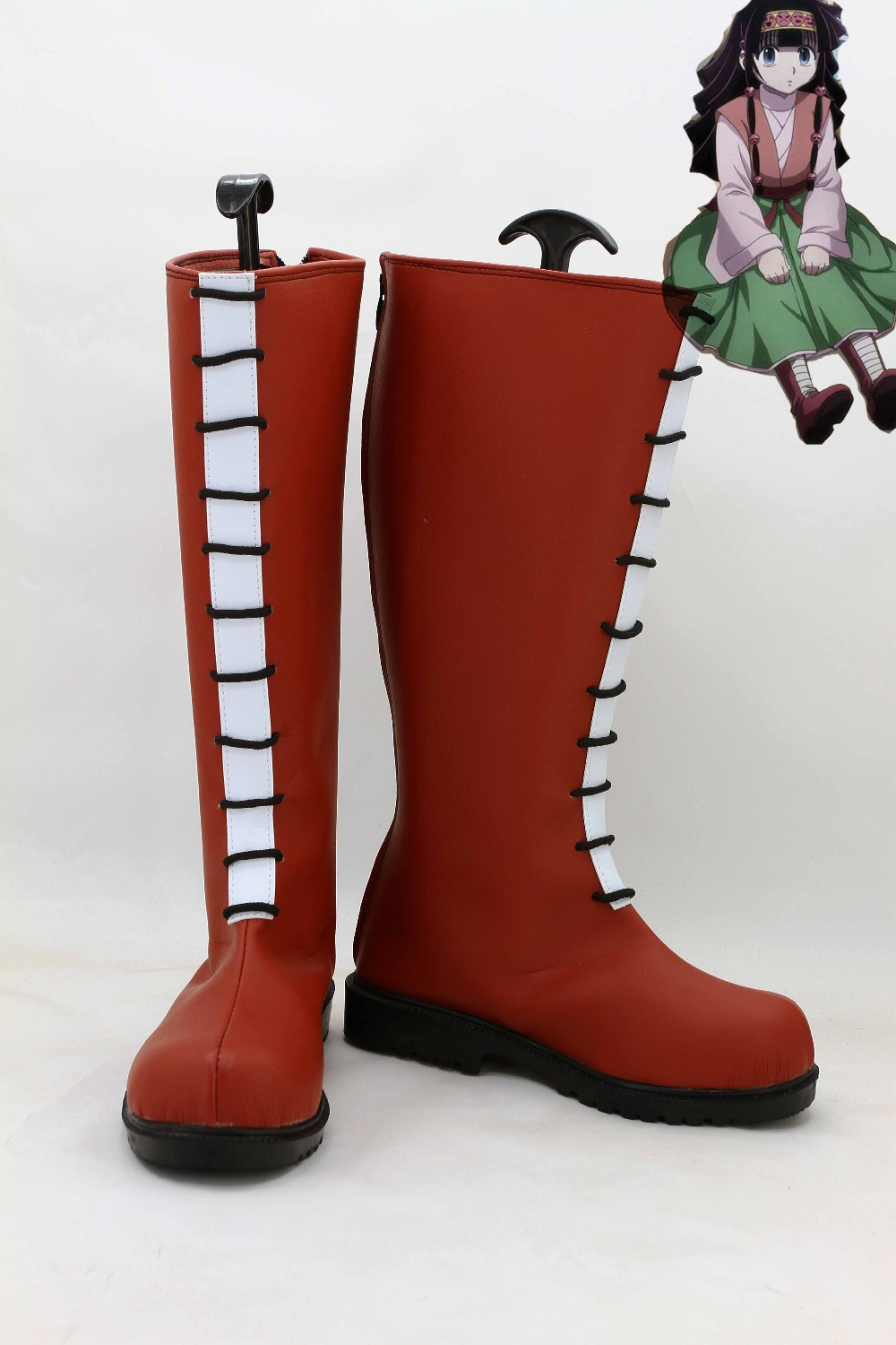 Alluka Zoldyck Cosplay Boots Party Anime Shoes Custom Made
