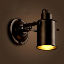 Led Wall Lamp 220V Retro Industrial Wall Light LED Wall sconce Vintage wall Lights for Restaurant bedside Bar Cafe Home Lighting цена в Москве и Питере