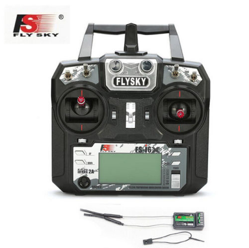 цена Flysky FS-i6X 10CH 2.4GHz AFHDS 2A RC Transmitter With FS-iA6B FS-iA10B FS-X6B FS-A8S Receiver For Rc Airplanes Mode 2 F20424/6