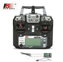 Flysky FS-i6X 10CH 2.4GHz AFHDS 2A RC Transmitter With FS-iA6B FS-iA10B FS-X6B FS-A8S Receiver For Rc Airplane Mode 2 F20424/6
