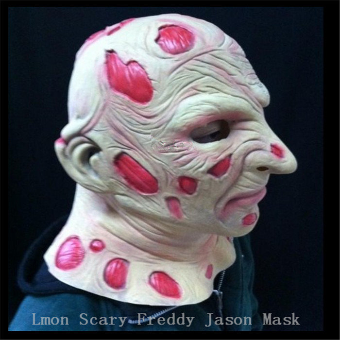 Halloween fête Cosplay effrayant films masque Jason Voorhees Freddy Hockey masque Festival fête Halloween mascarade masque adultes taille - 5